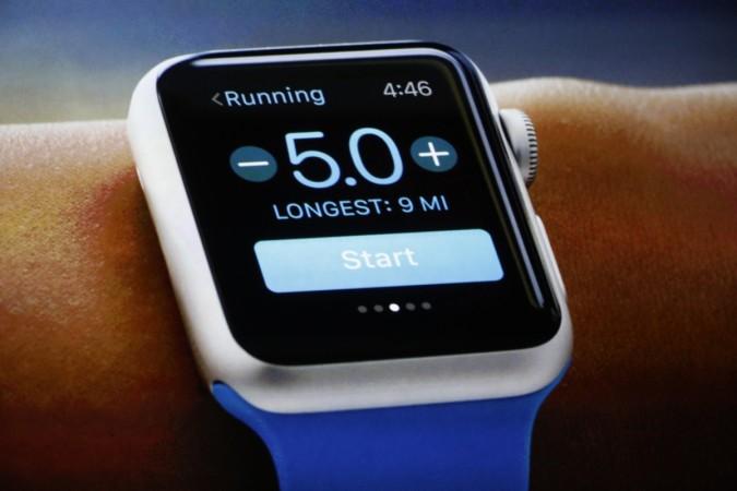 Apple Watch, on-skin sensor, nanomesh electrode