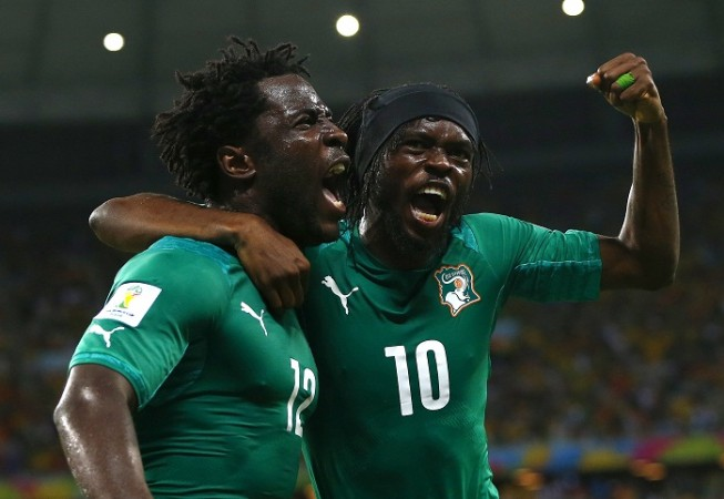 Gervinho Ivory Coast Wilfried Bony