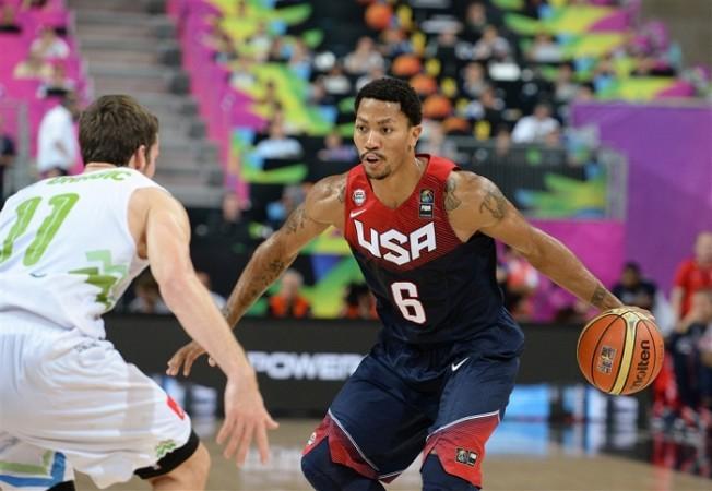 Derrick Rose USA