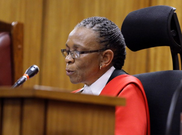 Oscar Pistorius Judge
