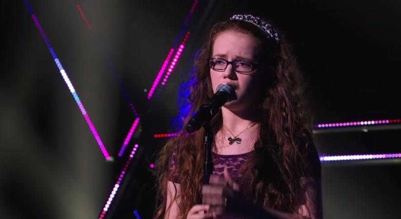 "Mara Justine performs on ""America's Got Talent"" 2014"