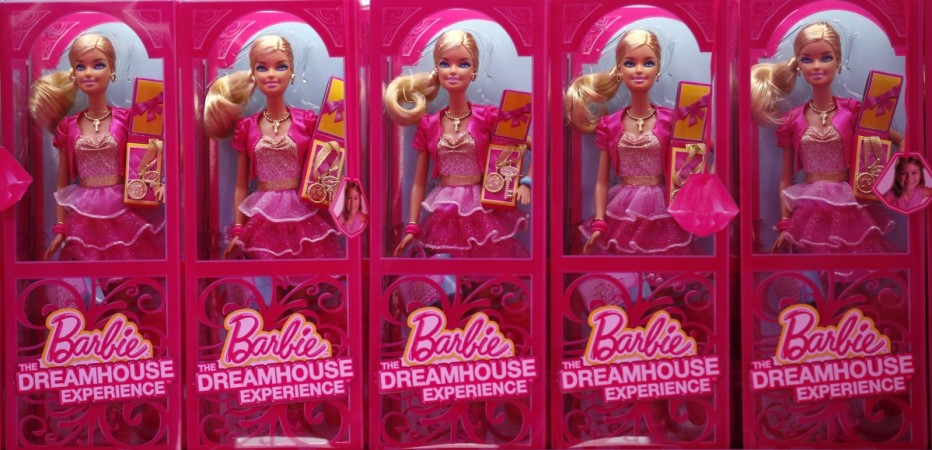Swearing barbie says what the fuck, shocks mom