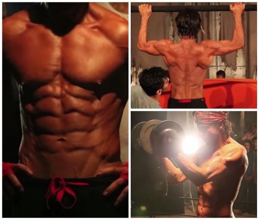 Shah Rukh Khan Goes Shirtless, Pumps the Iron for Hrithik Roshan