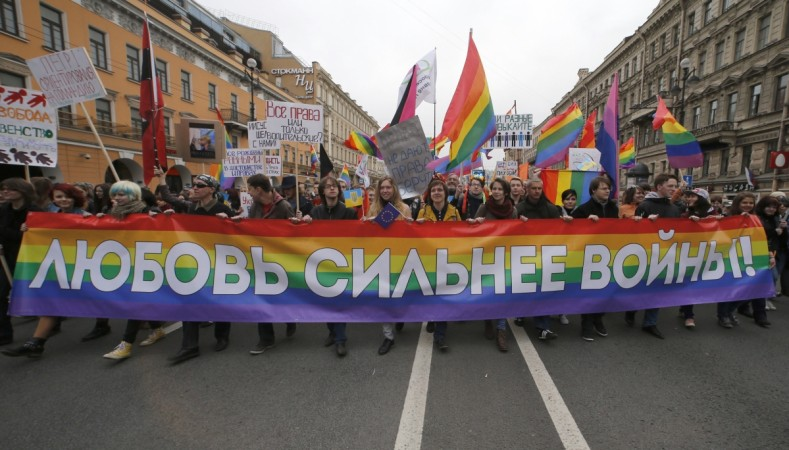 Russia's Constitutional Court on Thursday upheld a law that bans the promotion of 'gay propaganda'.