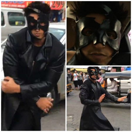 Ranveer Finishes Hrithik's Bang Bang dare in Style, Dances on Busy Road Wearing Krrish Costume