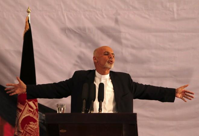 Afghan president-elect Ashraf Ghani Ahmadzai