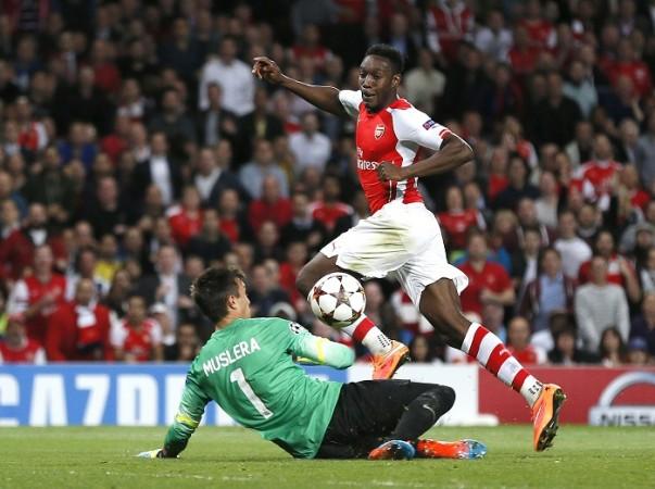 Danny Welbeck Arsenal Galatasaray Fernando Muslera