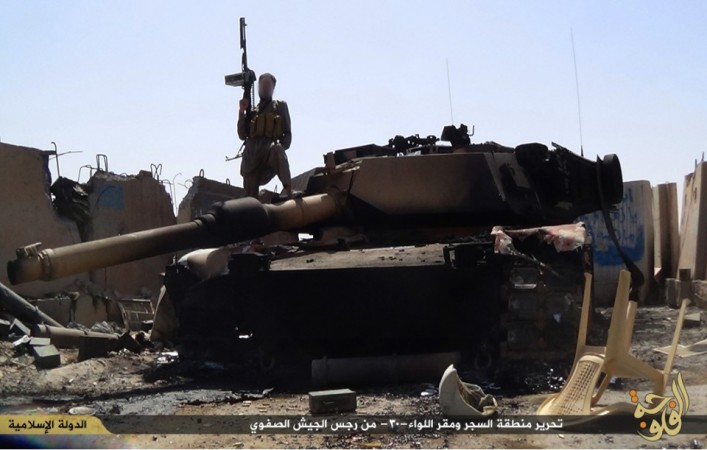 ISIS has released the pictures of its attack on Iraq 30th brigade,in which over 300 Iraqi soldiers were killed.