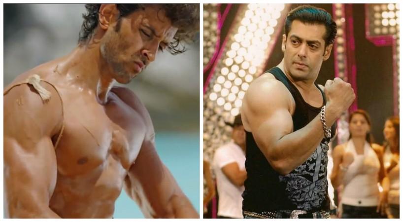 Hrithik Roshan, Salman Khan