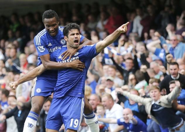 Chelsea John Obi Mikel Diego Costa