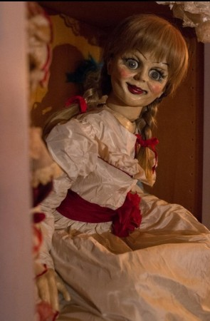 Annabelle, the  haunted doll