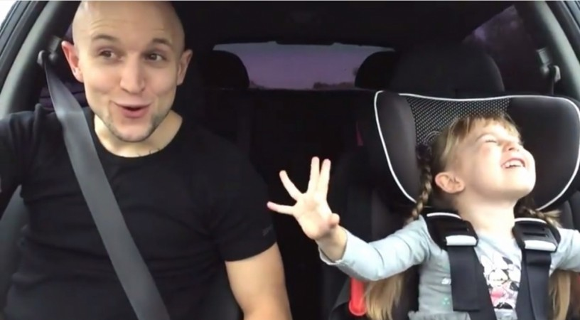 Father-Daughter sings Frozen Theme Tune, Becomes Latest Internet Sensations