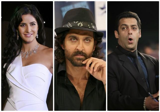 Katrina Kaif, Hrithik Roshan, Salman Khan