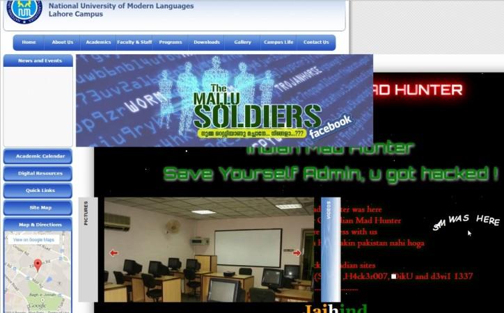 Mohanlal Fans Hack Pakistan Website