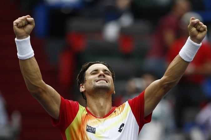 David Ferrer Shanghai Masters