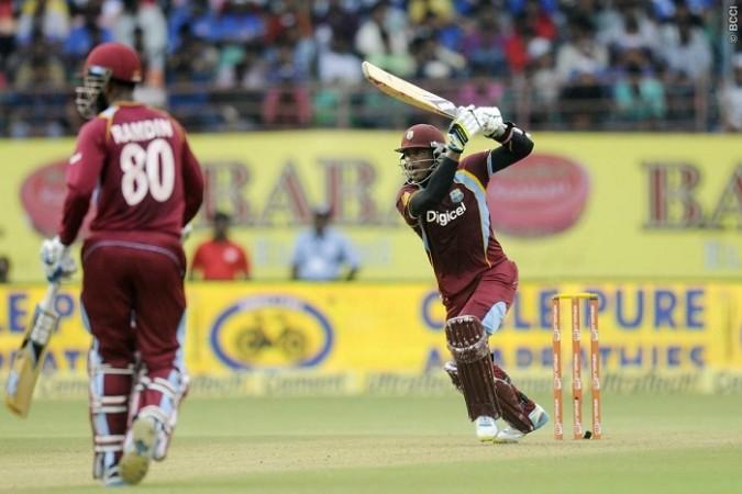 Marlon Samuels West Indies Denesh Ramdin