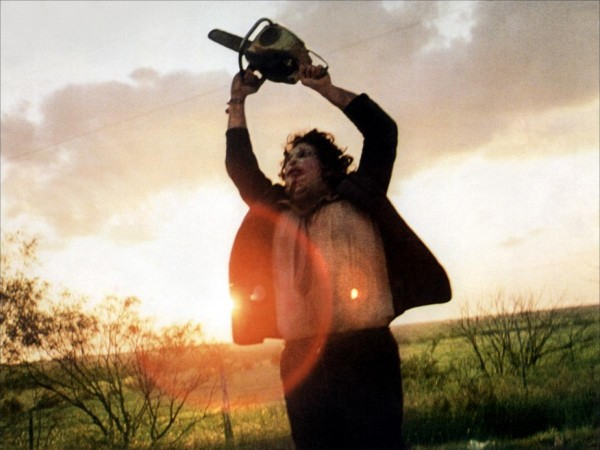"A scene from the popular Halloween movie ""The Texas Chainsaw Massacre"""