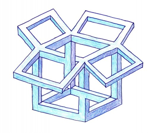 A Dropbox artwork