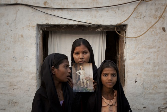 Daughters of Pakistani Christian woman Asia Bibi