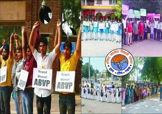 ABVP respect women campaign