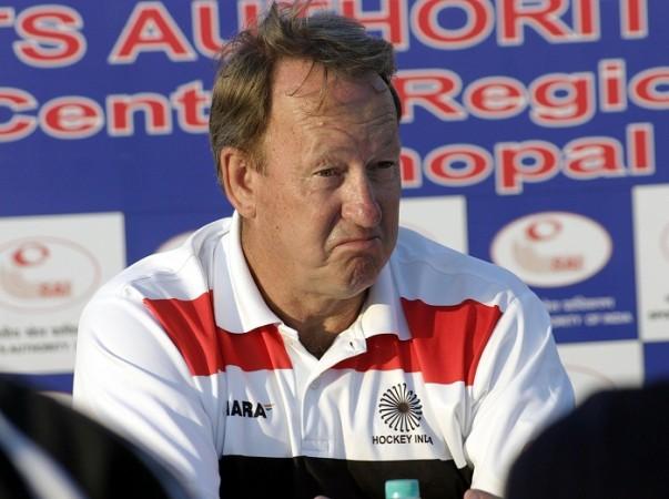 Terry Walsh India Coach Hockey