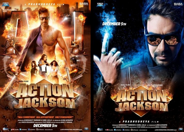 """First Look of Ajay Devgn's """"Action Jackson"""""""