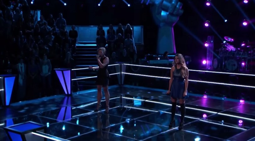 Beth Spangler and Mia Pfirman on The Voice USA Season 7