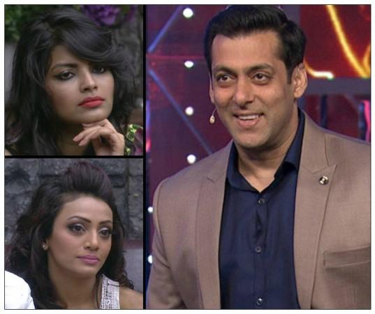 Salman Khan, Soni Singh, Sonali Raut