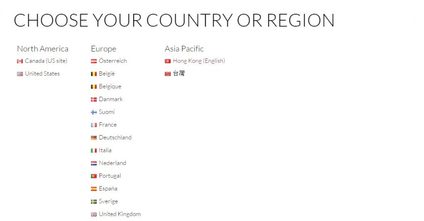 OnePlus One launch countries details
