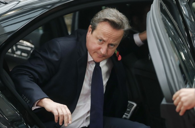 Dean Balboa Farley, who bumped into PM David Cameron has said he had