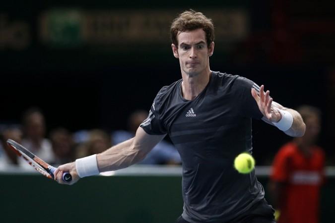Andy Murray Paris Masters