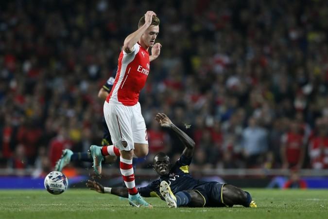 Calum Chambers Arsenal Sadio Mane Southampton