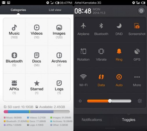 Xiaomi Redmi 1s Utilities