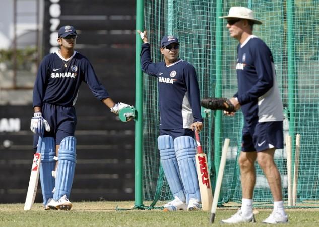 Rahul Dravid Sachin Tendulkar Greg Chappell