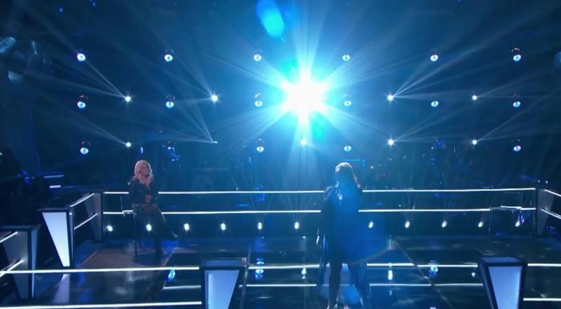 "Taylor Brashears performs on ""The Voice"" USA Season 7"
