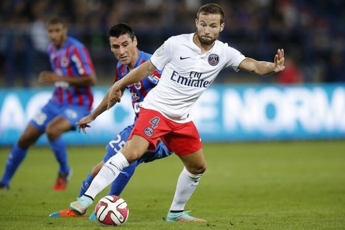 Yohan Cabaye PSG Julien Feret Caen