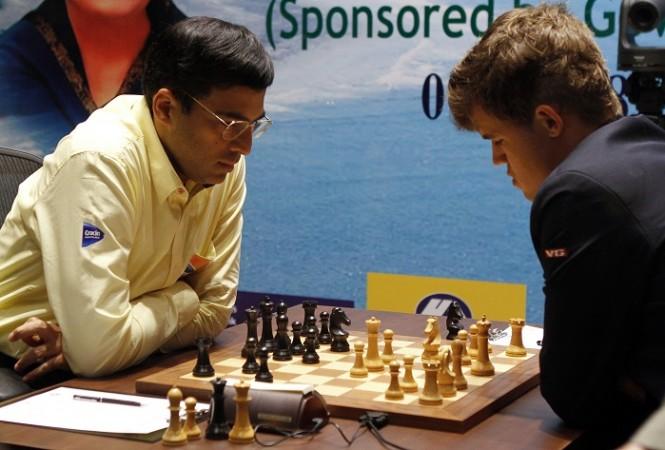 Viswanathan Anand Magnus Carlsen World Chess Championship