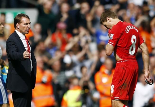 Brendan Rodgers Steven Gerrard Liverpool