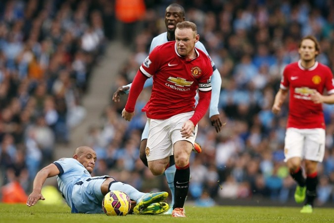 Manchester United Wayne Rooney Manchester City Fernando Yaya Toure