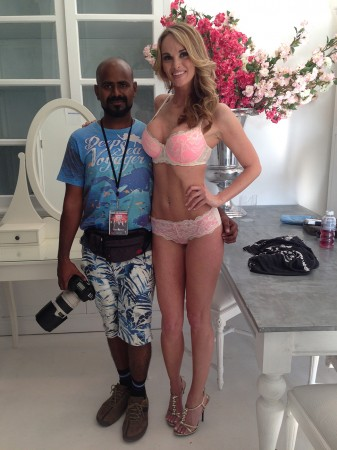 India's first photographer for Playboy with model Jade Amber Williams