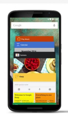 Android Lollipop design