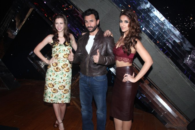 Saif Ali Khan, Ileana D'Cruz and Kalki Koechlin promotes 'Happy Ending' on India's Raw Star