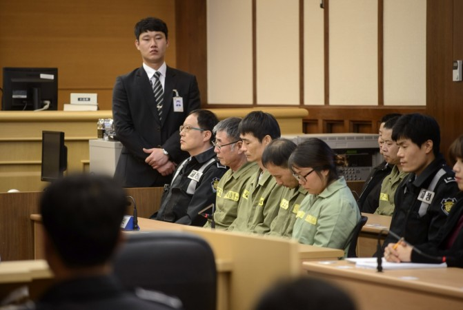 Lee Joon-Seok, the captain of the South Korean 'Sewol' which capised and killed hundres of people earlier in the year, was sentenced on Tuesday to 36 years in jail.