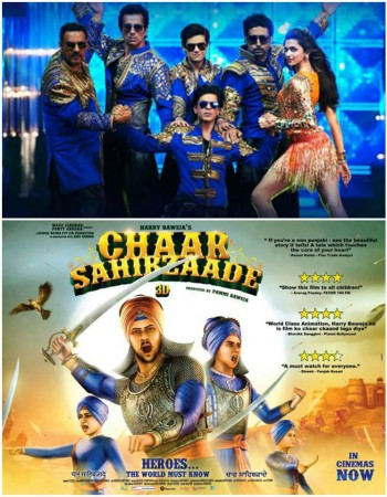'Happy New Year' (HNY) Stoops down before 'Chaar Sahibzaade' at Overseas Box Office
