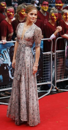 Emma Watson arrives for the world premiere of