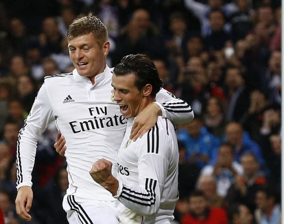 Toni Kroos Gareth Bale Real Madrid