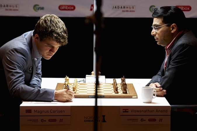 Magnus Carlsen Viswanathan Anand