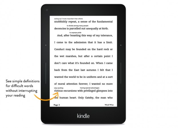 Amazon Update For Kindle E-Readers Brings Slew Of New Features