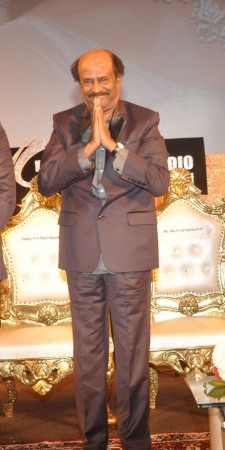 "Rajinikanth at ""Lingaa"" Audio Launch"
