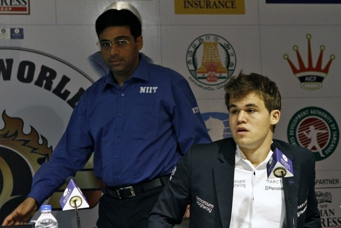 Viswanathan Anand Magnus Carlsen